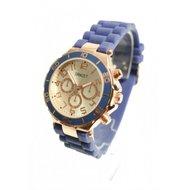 Horloge Rosé 'Blauw'